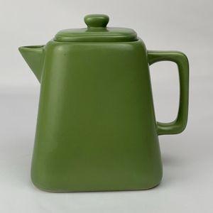 Starbucks Green Tapered Square Teapot 2012